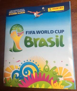 Álbum de figurinhas da Copa do Mundo 2014