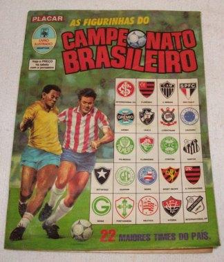 Álbum de figurinhas do Campeonato Brasileiro de 1989